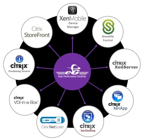 eG Enterprise monitors anything Citrix