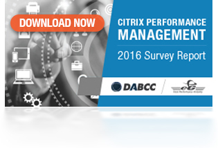Citrix Performance Management Report 2016