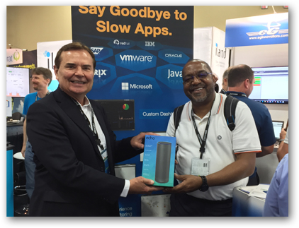 eG Innovations at VMworld 2016 - Echo Winner, Kerwin Pitchford