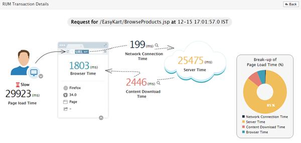 eG Innovations Real User Monitoring - Java APM Solutions