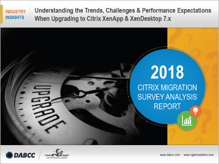 Citrix migration survey results are available for download