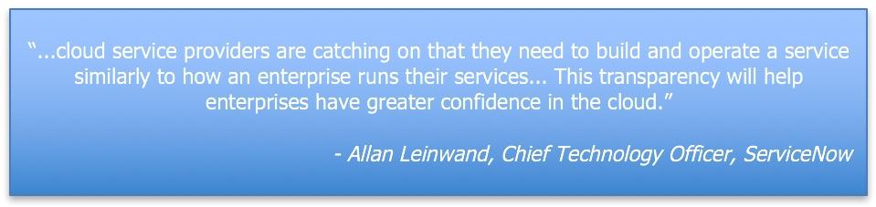 ServiceNow quote