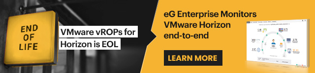 VMware vRealize Operations for Horizon