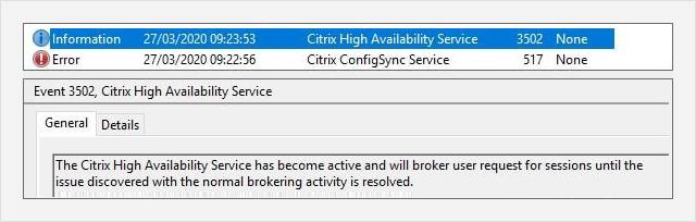 Citrix ConfigSync service ensures high availability