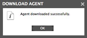 Citrix download agent confirmation