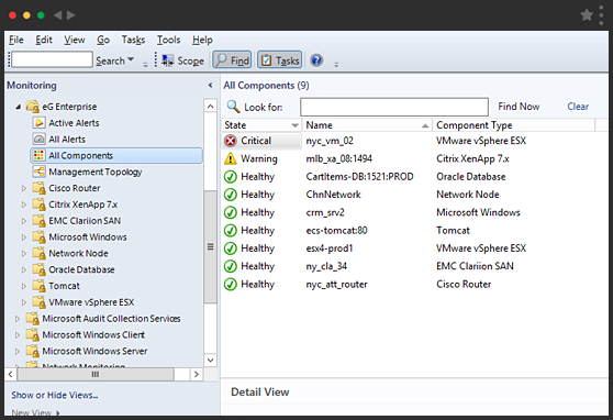 eG Enterprise Universal Management Pack for SCOM