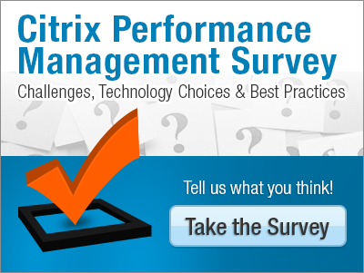 2016 Citrix Performance Management Survey