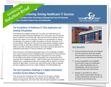 Download Solution Brief: APM Healthcare