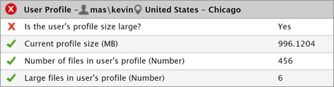 Citrix Logon Large User Profile Tracking