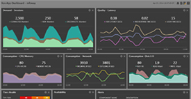 eG Enterprise Customized Dashboard
