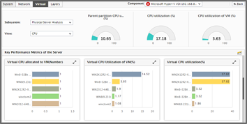 Virtual Performance Metrics: eG Enterprise
