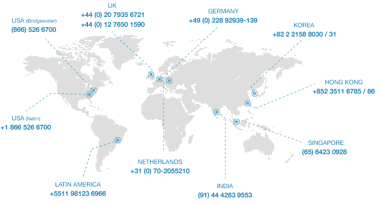 IT monitoring support and service locations